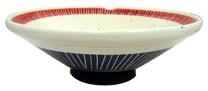 イングレ朱雅_6.5切立つけ麺鉢