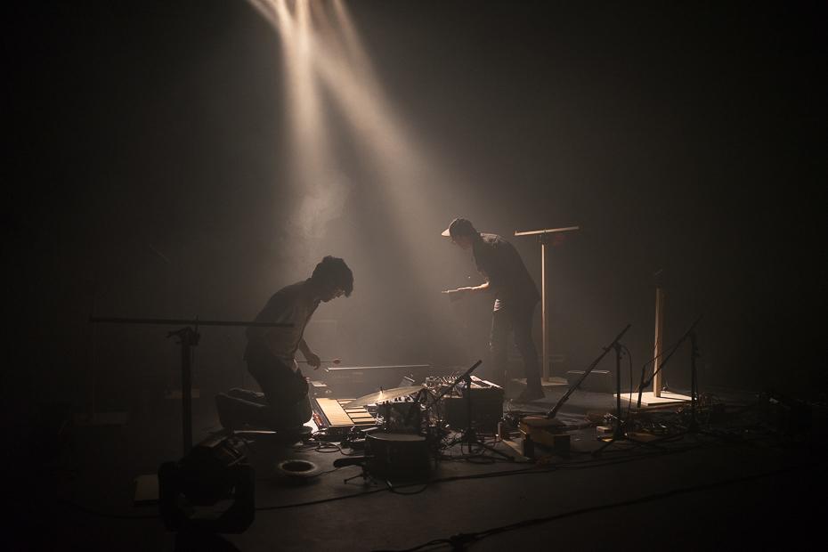 Joasihno als Cico Beck und Nico Sierig im Pumpenhaus, Münster
