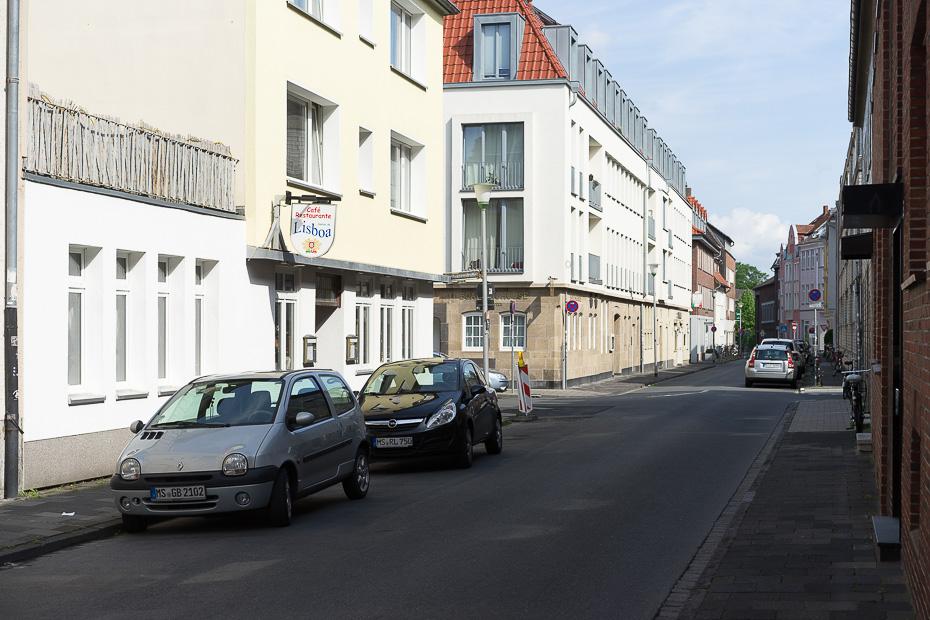 Woche 18: Sonnenstraße nahe Ritterstraße