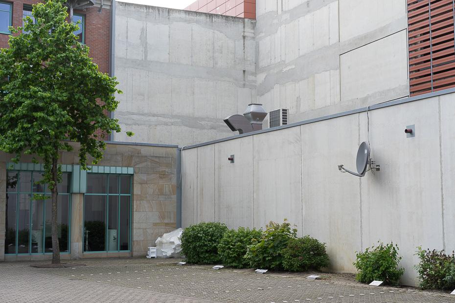 Woche 3: Alter Steinweg, Firmenparkplatz