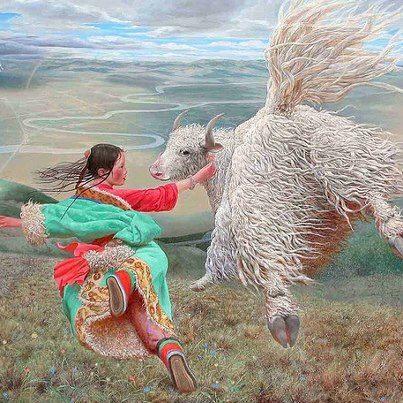 Painting : Wang Yi Guang