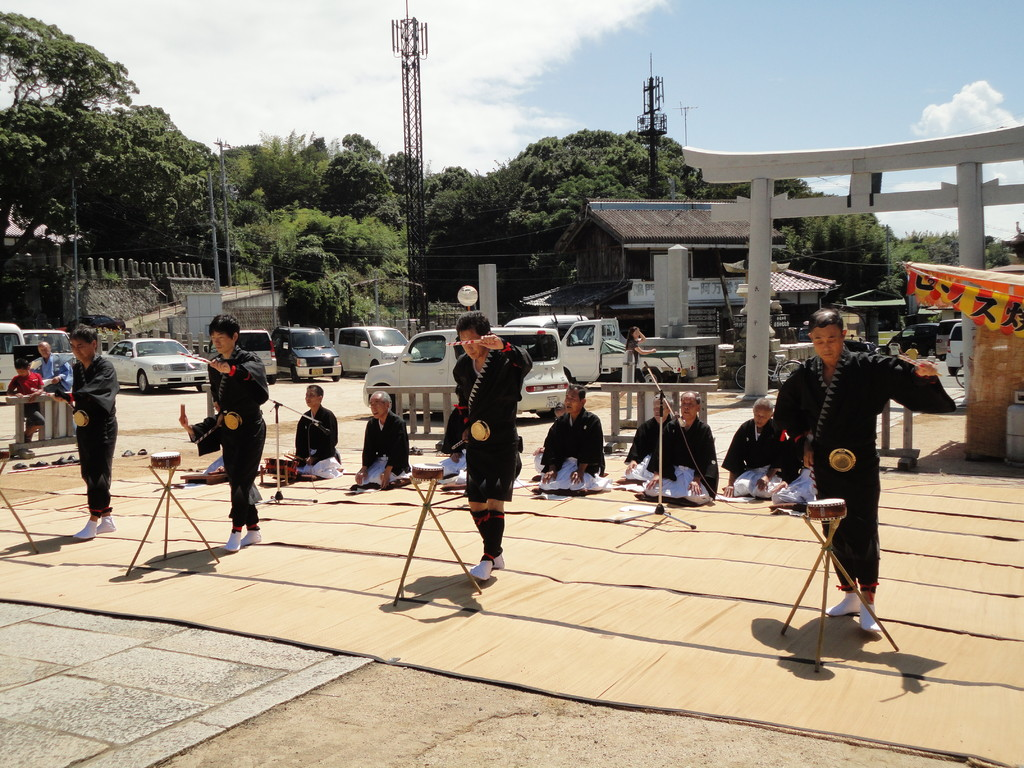風流小踊 第7番 諫太鼓(かんだいこ)踊