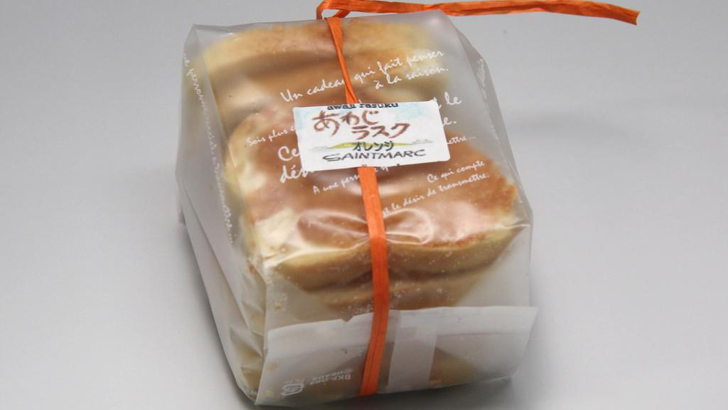 淡路浪漫菓子工房サンマルク 淡路ラスク 7枚210円