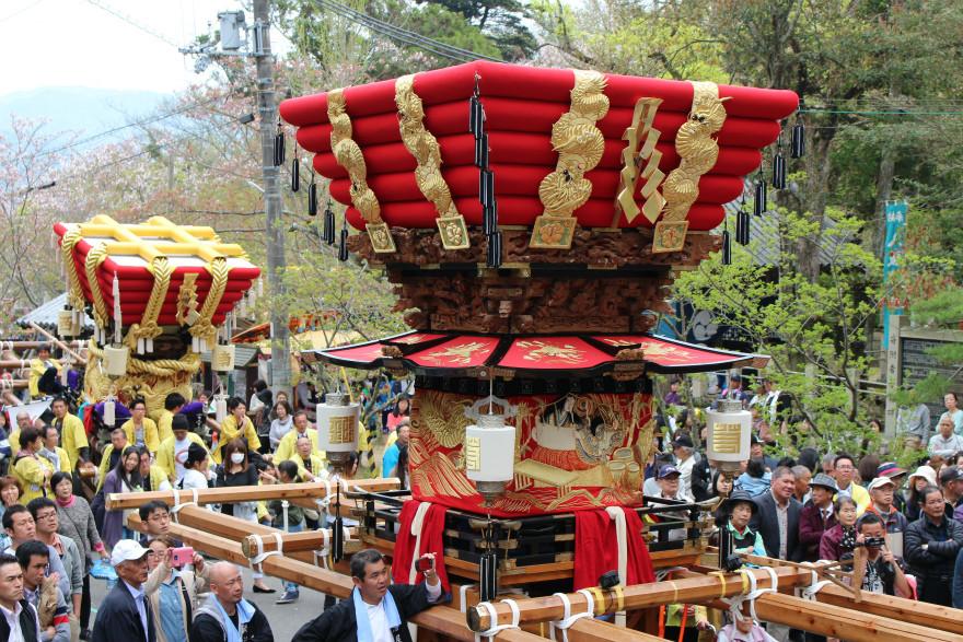 2016年 賀集八幡神社 春祭り 鍛冶屋地区のダンジリ