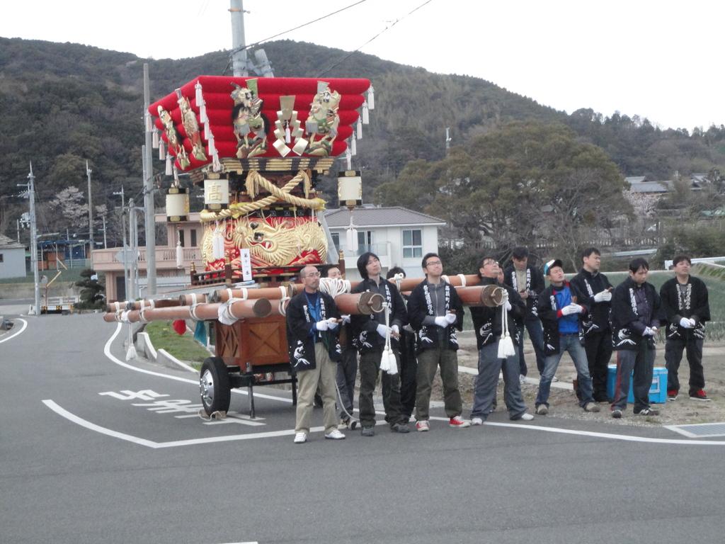 高萩祭礼団