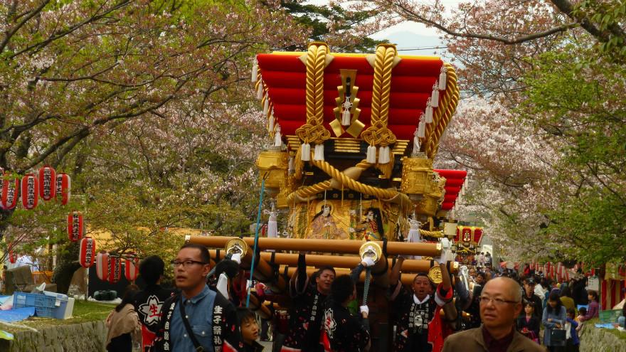 2016年 賀集八幡神社 春祭り(4月10日)