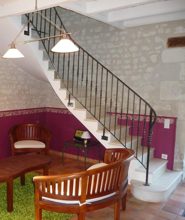 rénovation escalier 1 quart tournant