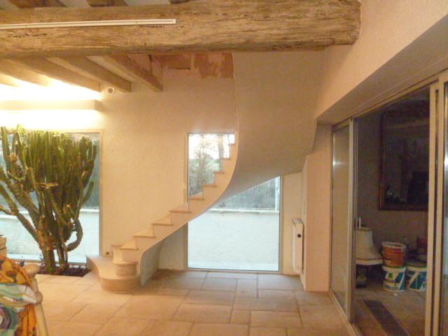 maison en rénovation pierre de Beaunotte