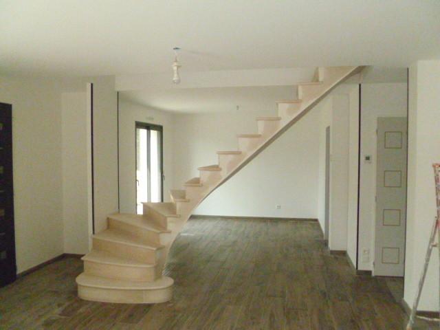 Escalier totalement dans le vide