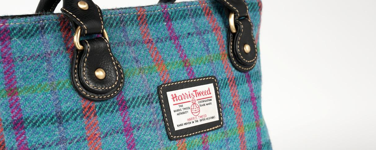 Tweed Tasche, Tweed Handtasche