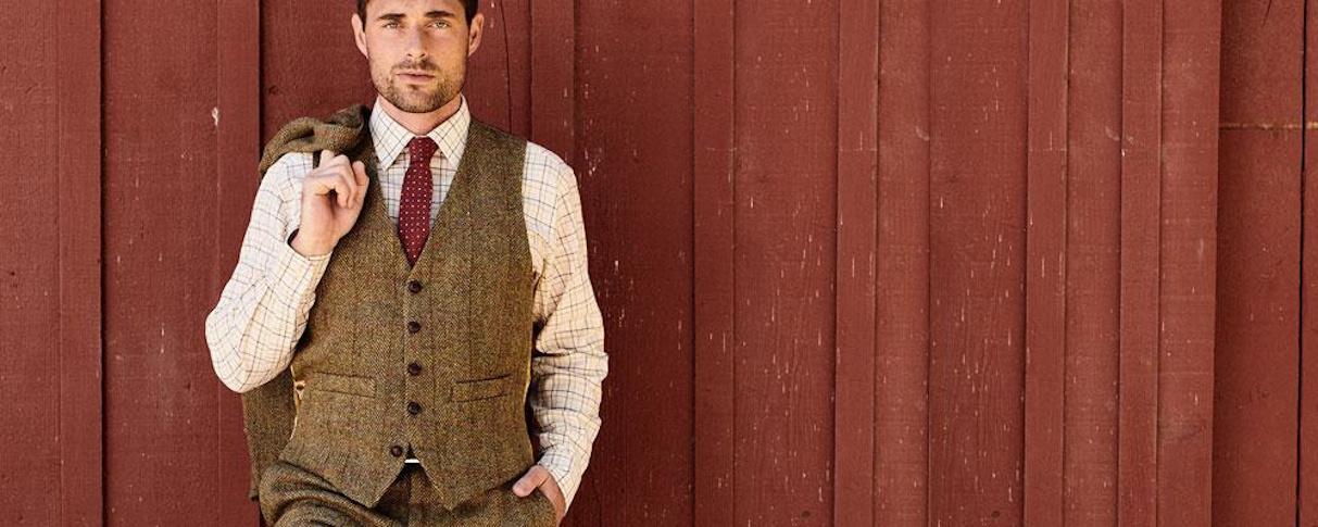 Tweed Weste
