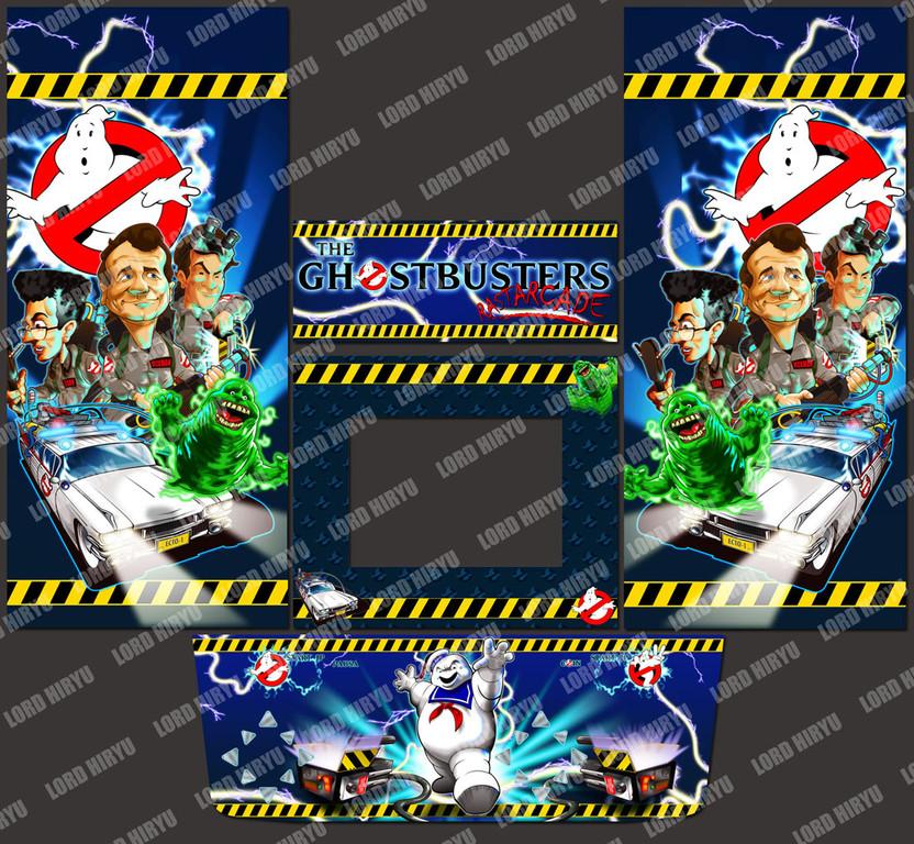 Artes Ghostbusters: Ilustraciones originales por Lord Hiryu