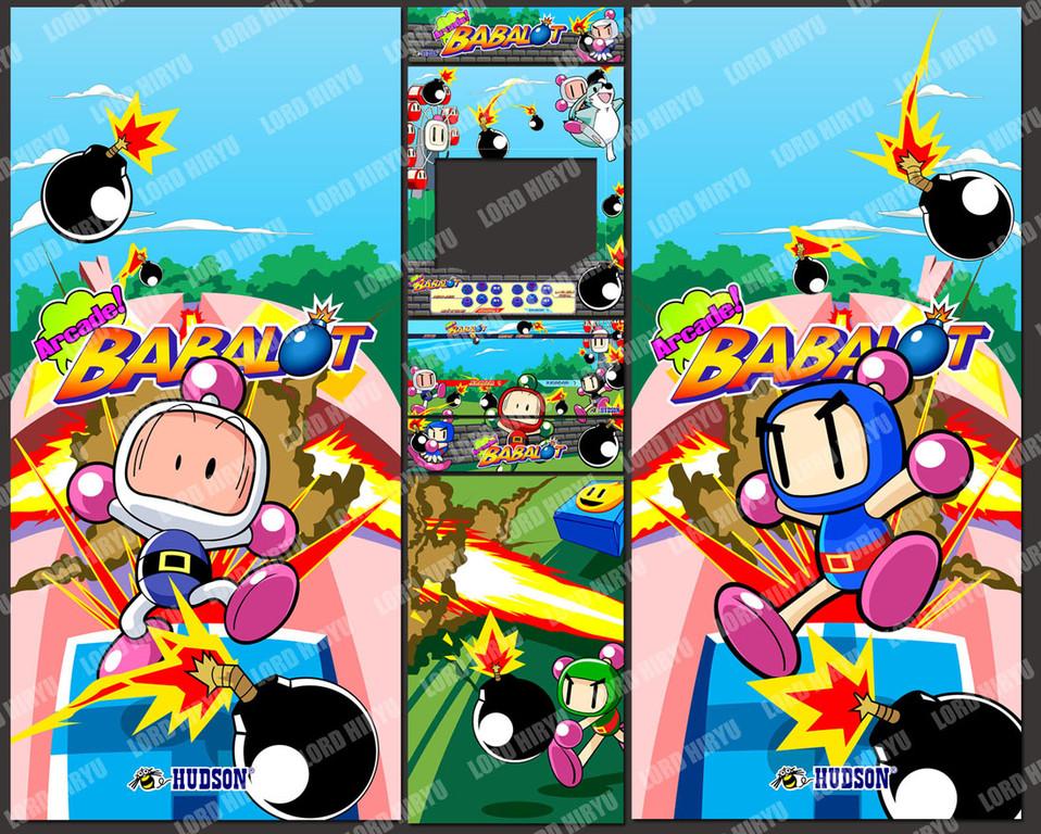 Artes Bomberman. Ilustración Mixta: Vectorizaciones e ilustraciones originales por Lord Hiryu
