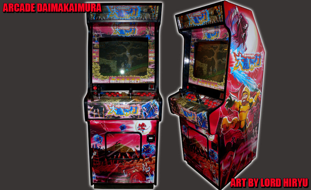 Máquina Recreativa de Cabecita. Decoración de Lord Hiryu