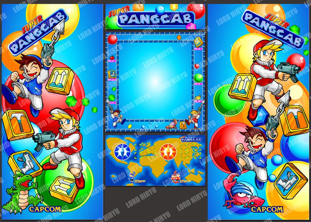 Artes Super Pang: Ilustraciones originales por Lord Hiryu