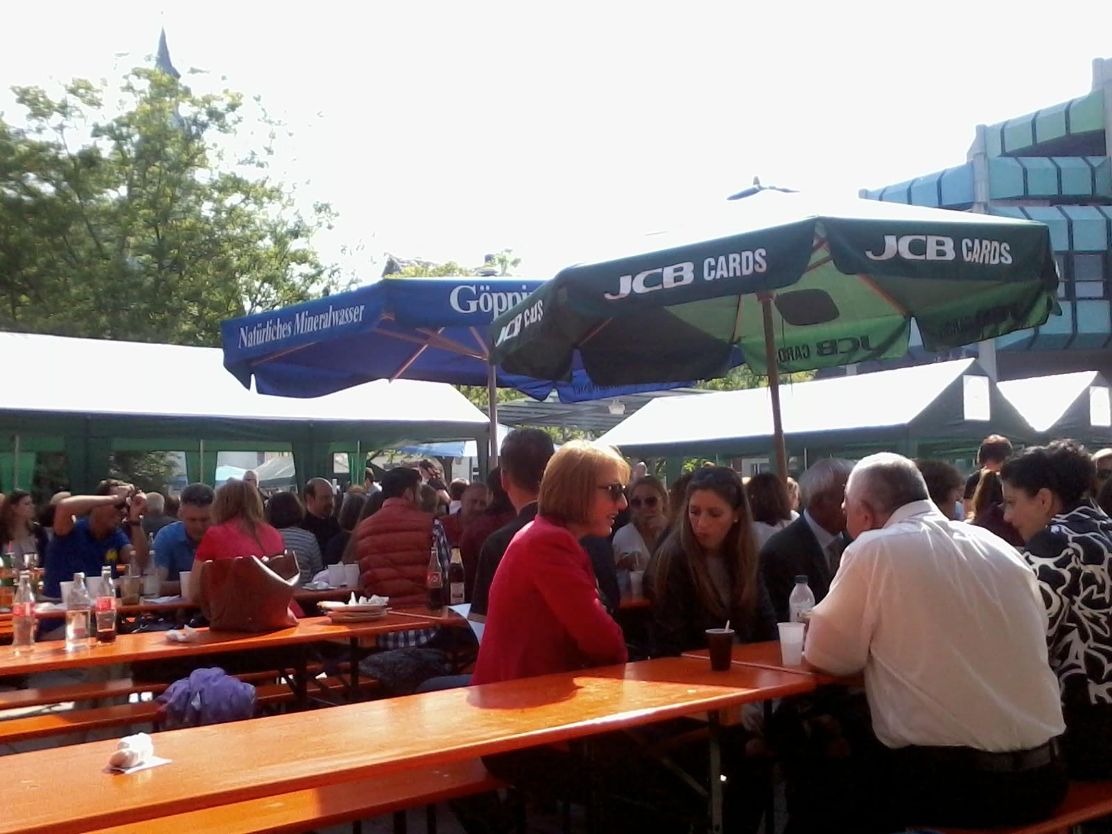 Patrozinium Griechische Gemeinde Waiblingen/ OGS-Treffen 05/2015