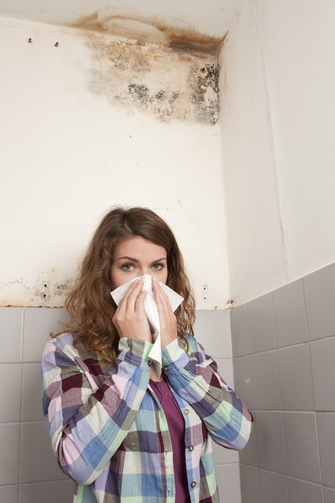 Schimmel in Wohnräumen und bei besonders hohen Konzentrationen ist gesundheitsgefährdend!