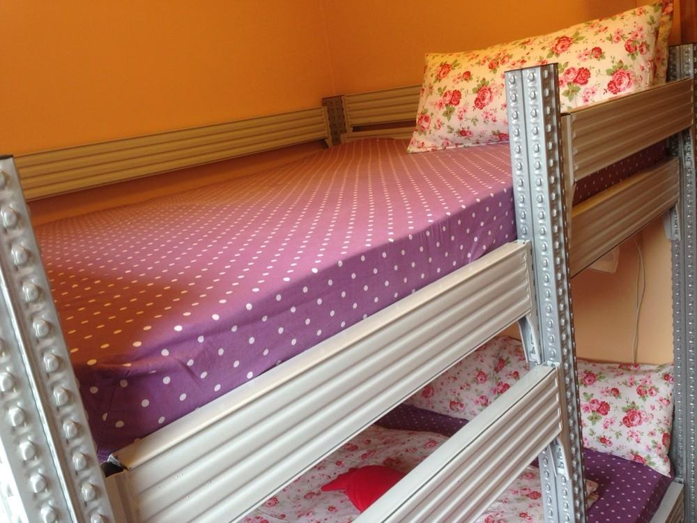 Designer-stockbett , mit viel Platz zum Chillen - 2x1400x2000 , Schlafzimmer 3