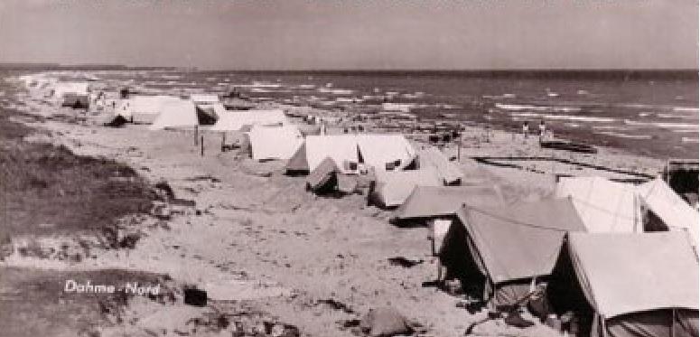 Camper in Dahme Nord 1952