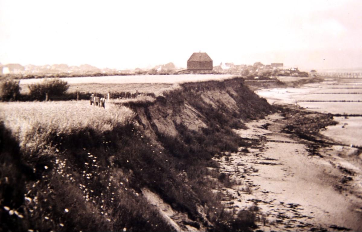Haus der Familie Dahl an der Steilküste (1926)