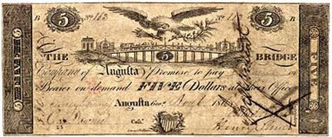 Banknote des Henry Shultz alias Klaus Hinrich KLahn