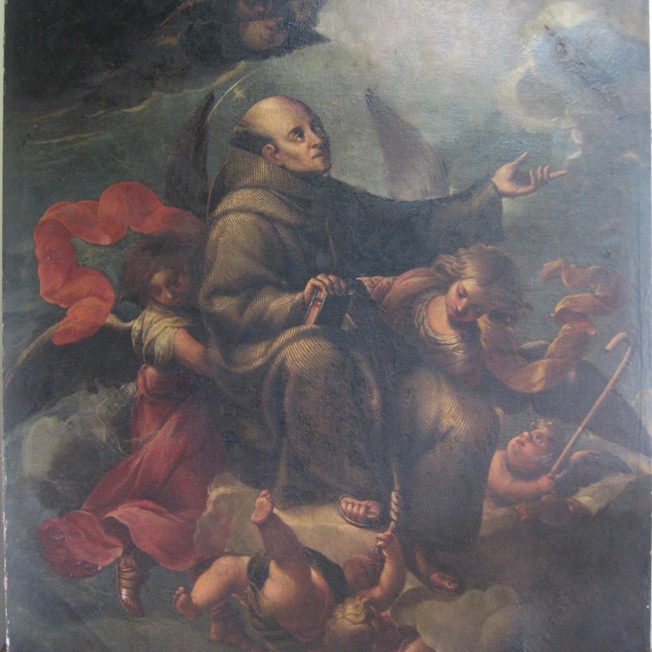 San Pedro Regalado. Concatedral de San Julián. Ferrol.