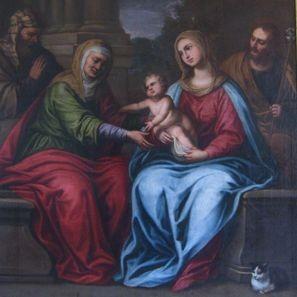 sagrada familia san Julián Ferrol