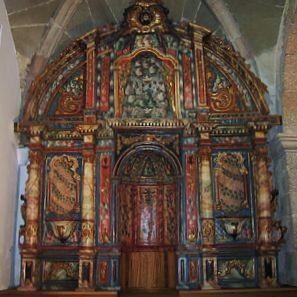 retablo As Pontes restauración