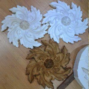 moldes escayola silicona copias reproducciones modernista
