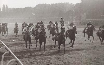 Soltikoff, vainqueur du Prix de l'Arc de Triomphe en 1962
