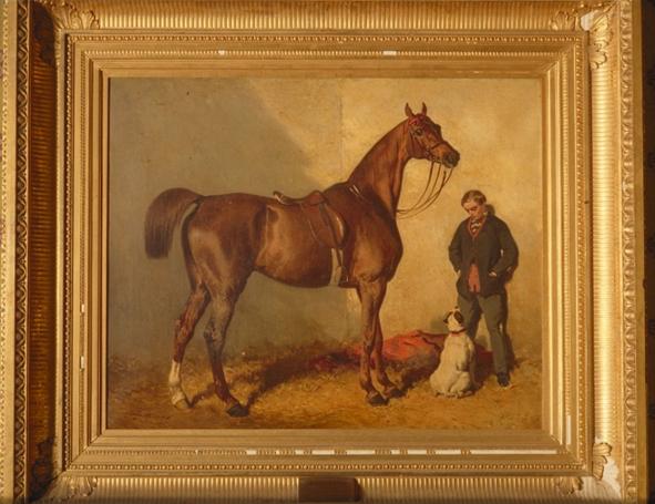 Le musée disparu du cheval de courses