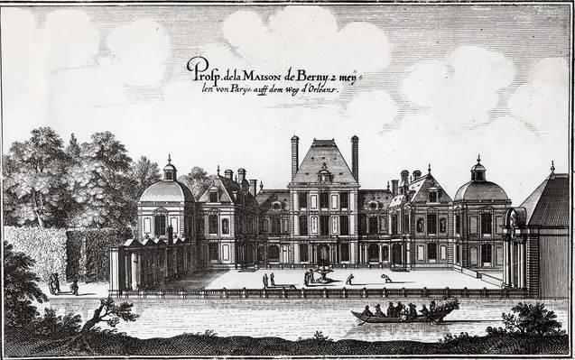 Châteaux construits par François Mansart avant celui de Maisons
