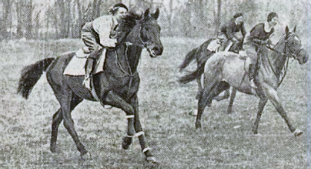 Avril 1933: Course des Dames à Maisons-Laffitte