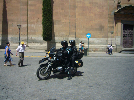 A partida de Salamanca rumo a Bilbao