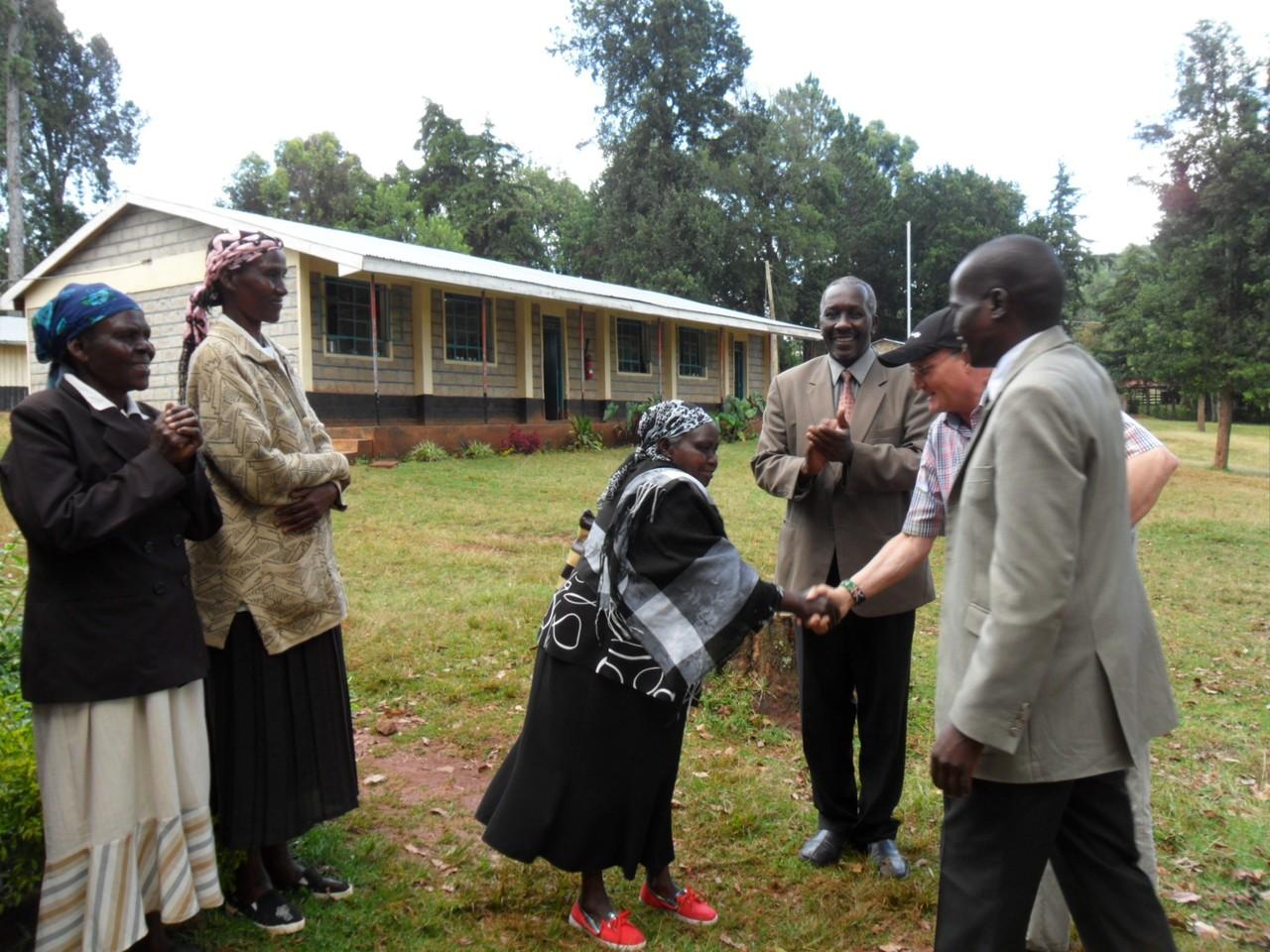 Besuch bei einer der Landfrauengruppen in der Region.