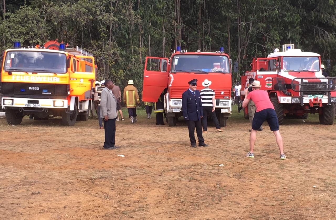 Die aktuelle Feuerwehrflotte