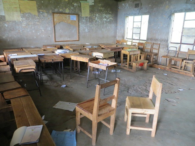 Impressionen aus dem kenianischen Schulalltag