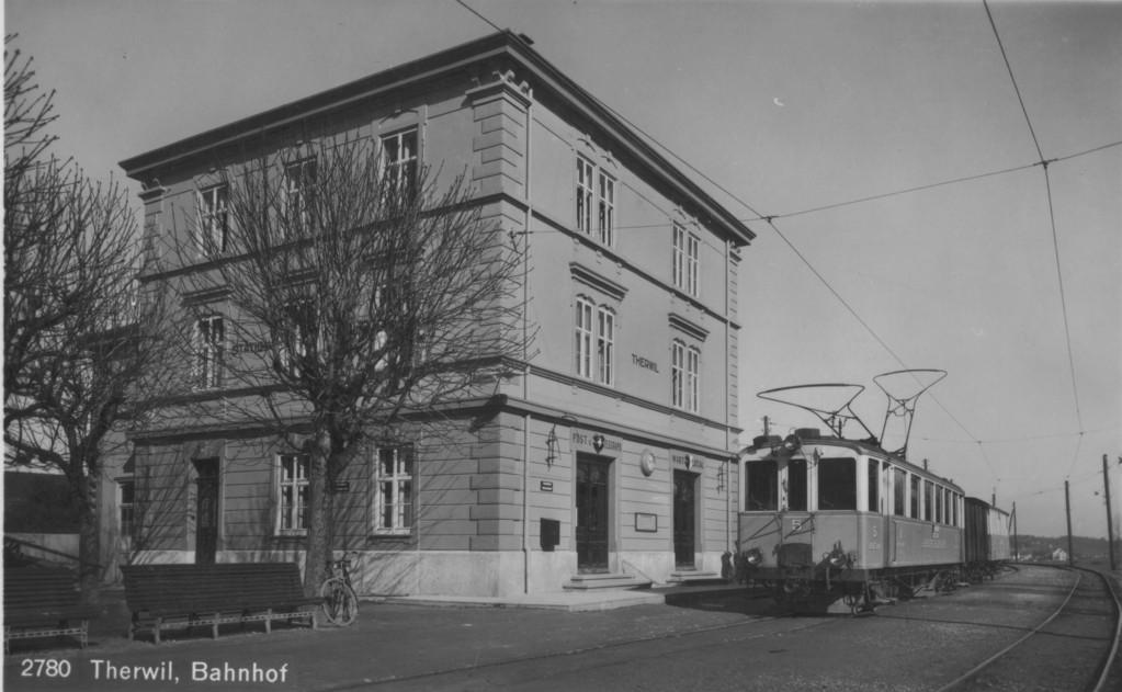 Der Bahnhof, um 1940