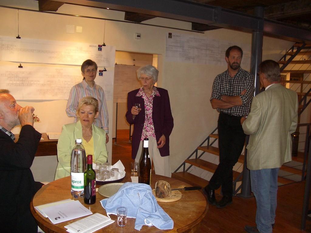 Die Urgeschlechter von Therwil: gemütliches Zusammensein