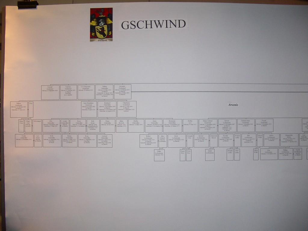 Die Urgeschlechter von Therwil, die Familie Gschwind, 2005
