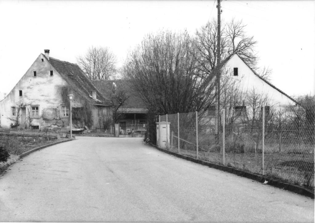 Untere Mühle, um 1980