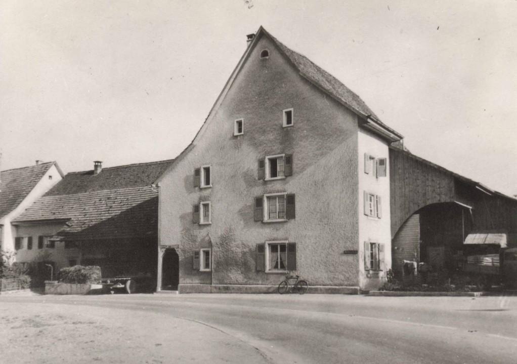 Das Geburtshaus des Kantonsgründers Stephan Gutzwiller am Mittleren Kreis