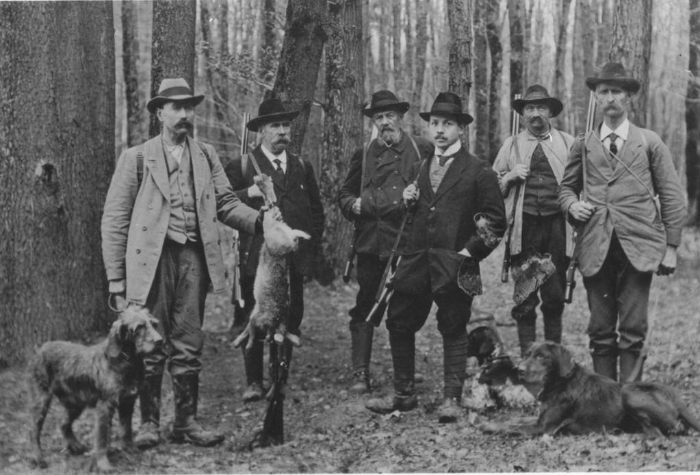 Die Therwiler Jagdgesellschaft, um 1920