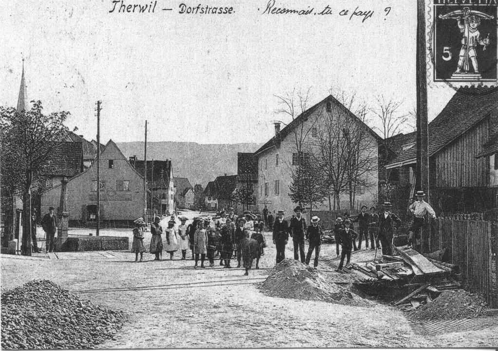 """Der """"Leueplatz"""" mit dem """"Hübelihaus"""""""