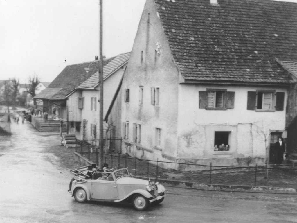 Am Mittleren Kreis, Fasnacht 1952