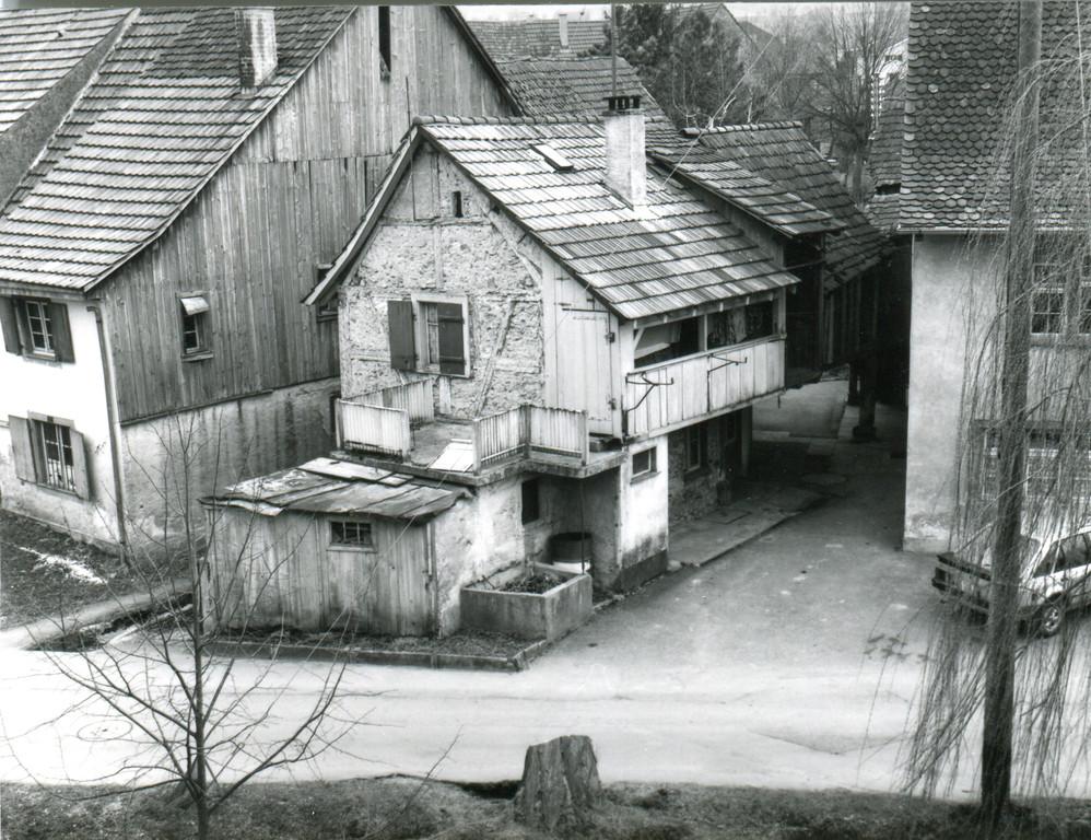 Taunerhaus am Mühleweg, um 1980