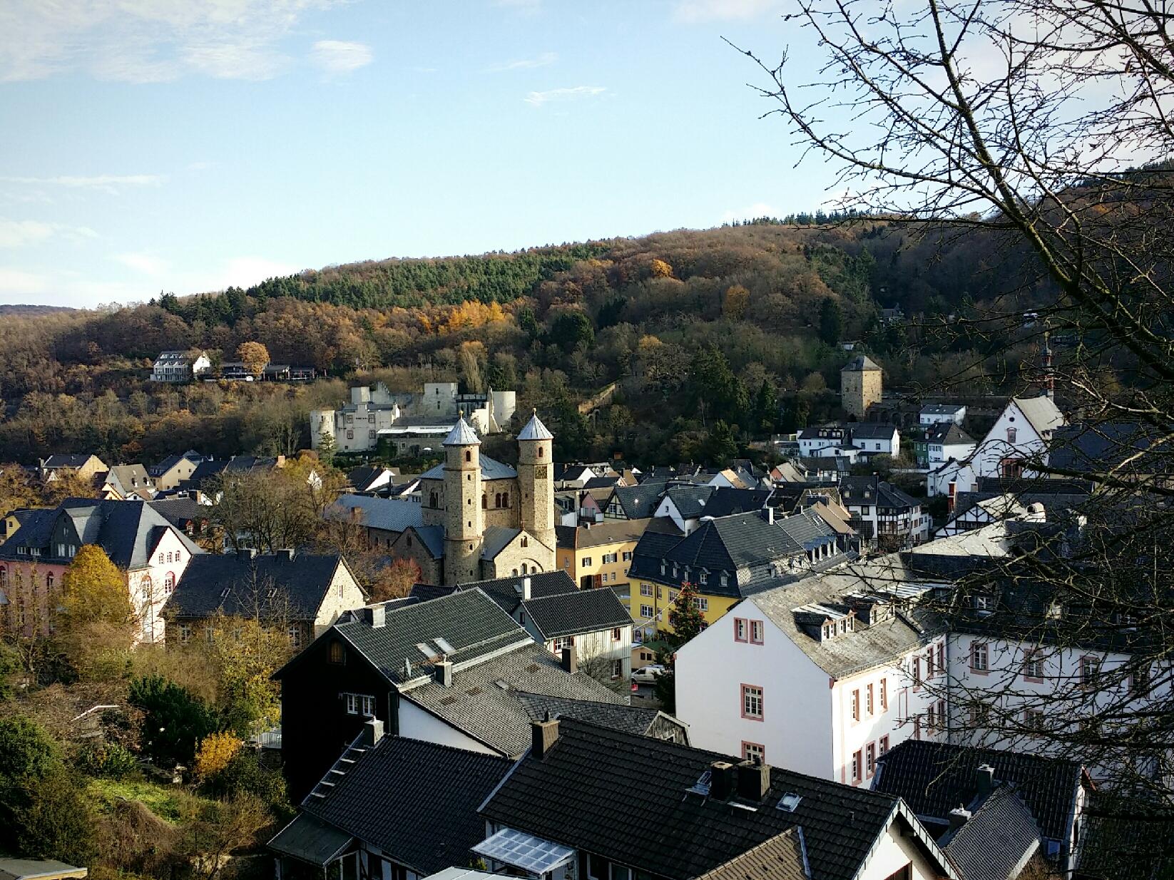 Bad Münstereifel - Aussicht von Stadtmauer