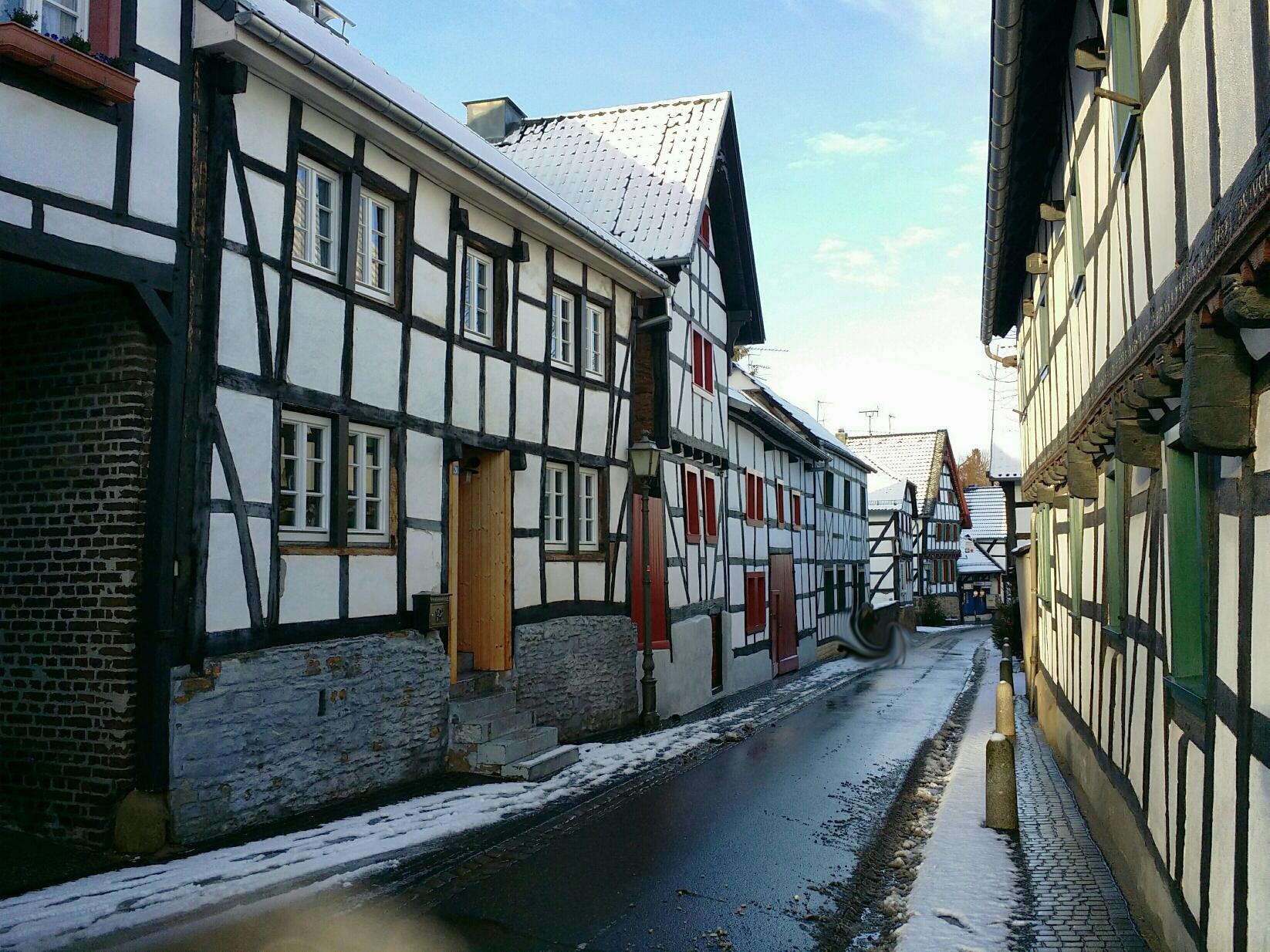 Kommern - Historischer Ortskern