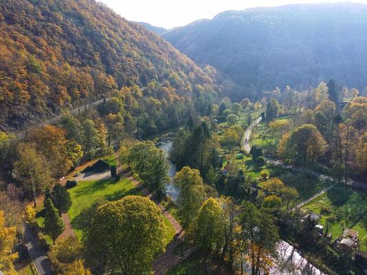 Aussicht von Burg Hengebach