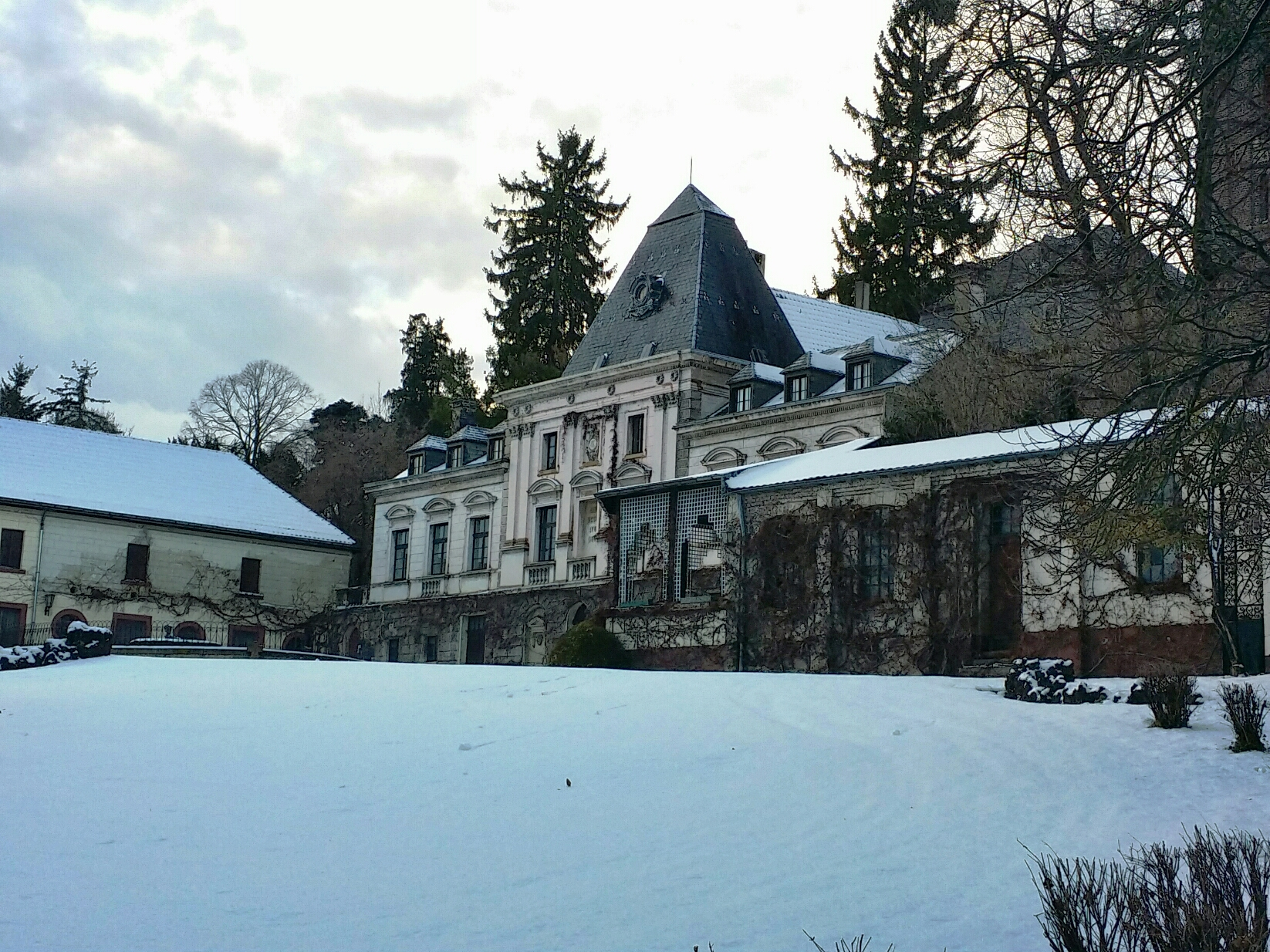 Kommern - Burg